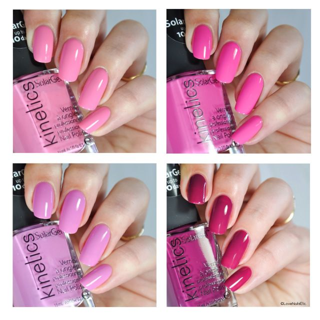 kinetics Nails – Rio Rio collection – Swatches & Review | Solar ...