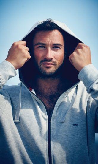 Men's Bamboo Atlantic Hoody : Bamboo Clothing