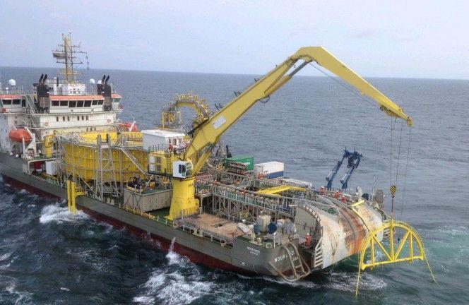 Offshore Umbilical Installation Google Search Schepen Boten Noordzee