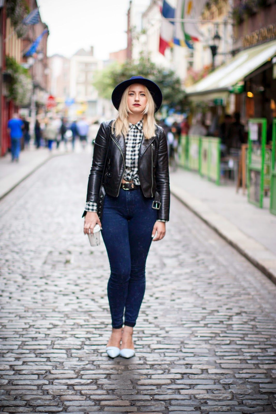 Style Gamblers: Too cool for school - jeans by Boohoo, jacket by H&M,