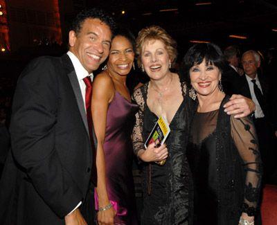 Lynn Redgrave, Brian Stokes Mitchell, Chita Rivera and Alison Tucker
