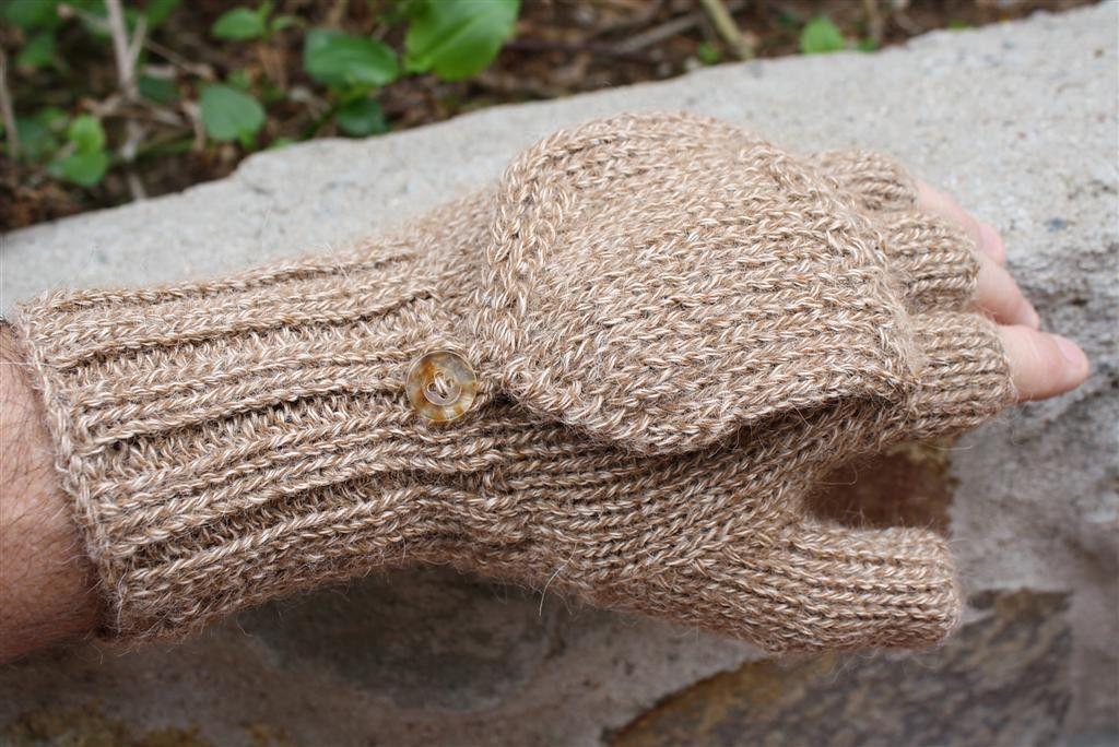 100% Alpaca Gloves Glittens d9711969b892