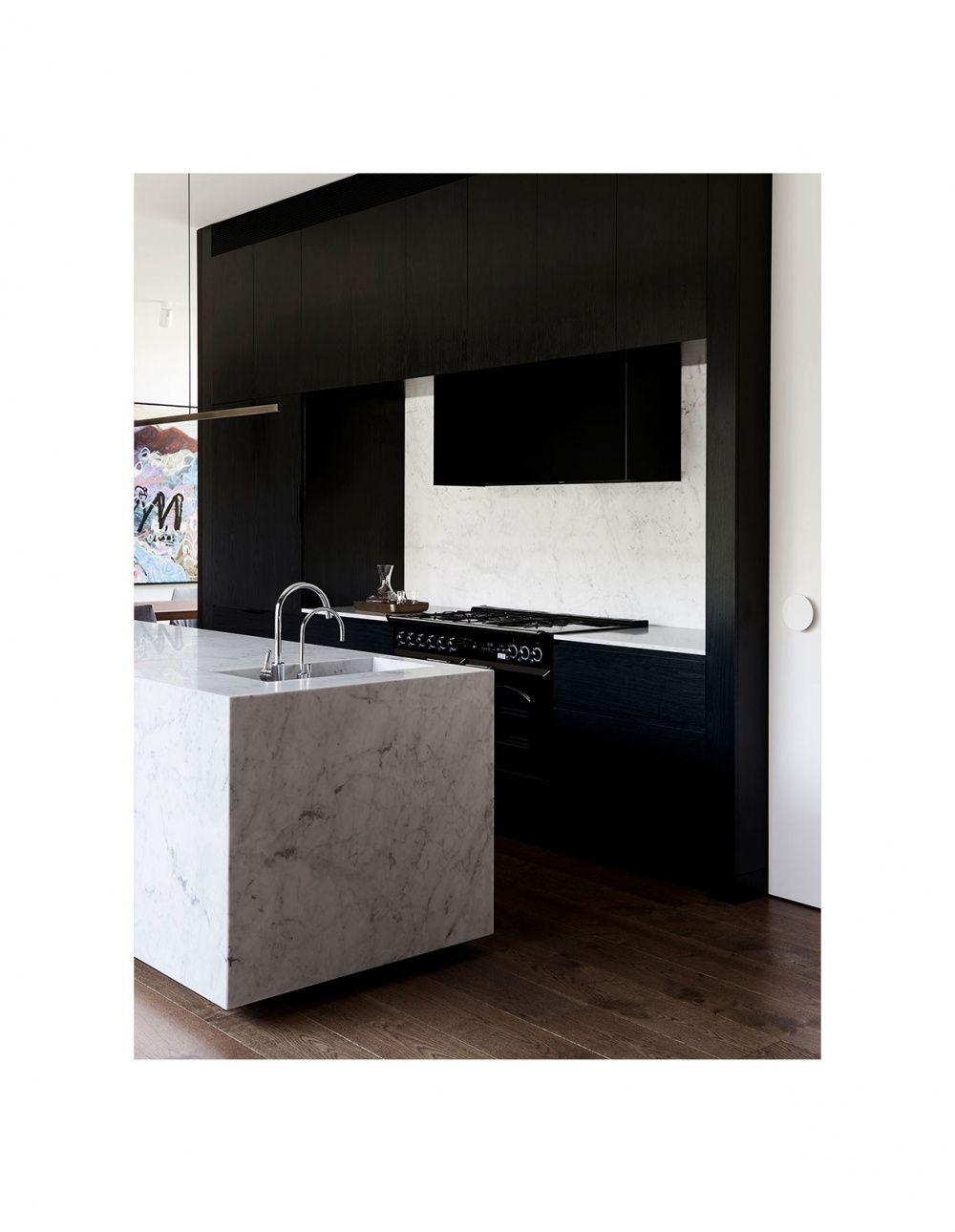 a modernist ruin in malvern kitchen design tips marble rh pinterest com