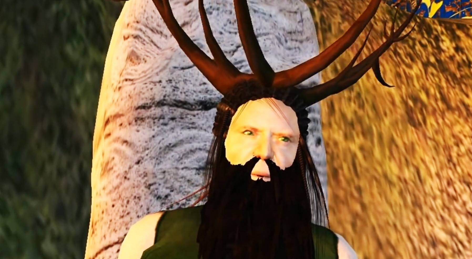 Screenshot from my animation Eostre Equinox http://youtu.be/4lZ-YKIeXww