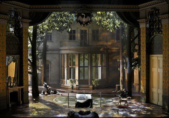 Villa Wahnfried in Herheim's Parsifal Set design theatre