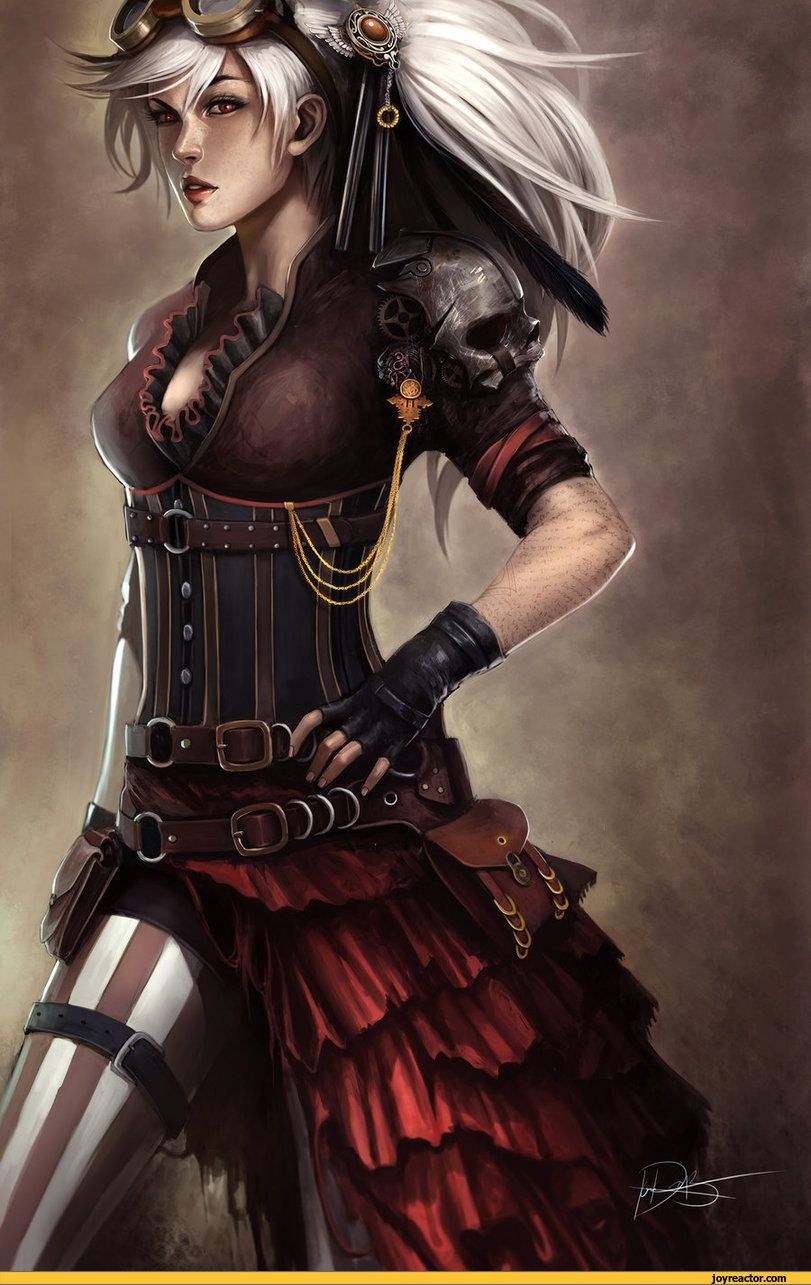 Art Beautiful Girl Steampunk Girls