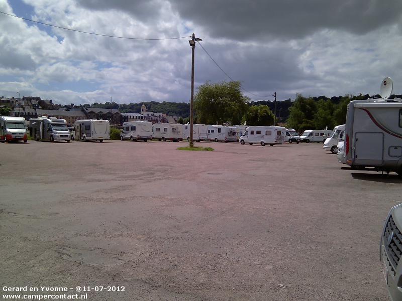 Camperplaats Honfleur - Aire de Bassin de l'Est - Frankrijk