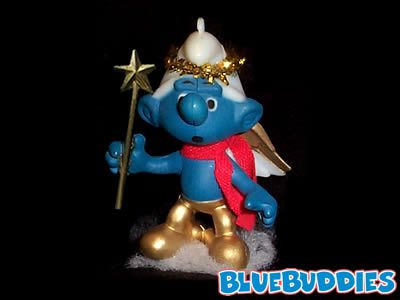Angel Smurf Ornament - Angel Smurf Ornament The Smurfs Pinterest Ornaments, Christmas