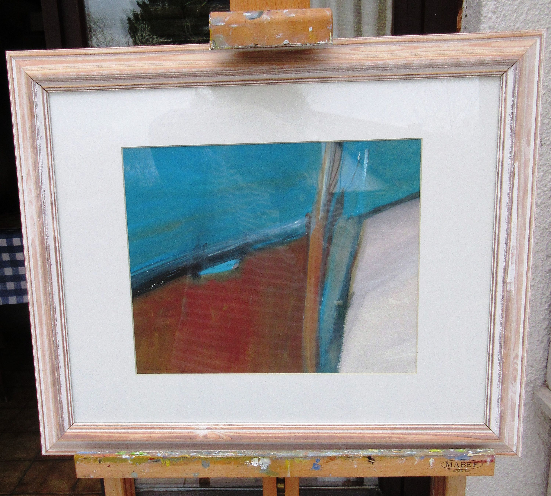 Papier A Peindre Epais voyage au pays des vivants: peinture gouache abstrait de