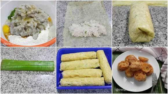 Resep Mudah Membuat Hekeng Rollade Udang Yang Enak Dan Menyehatkan Resep Daging Babi Makanan