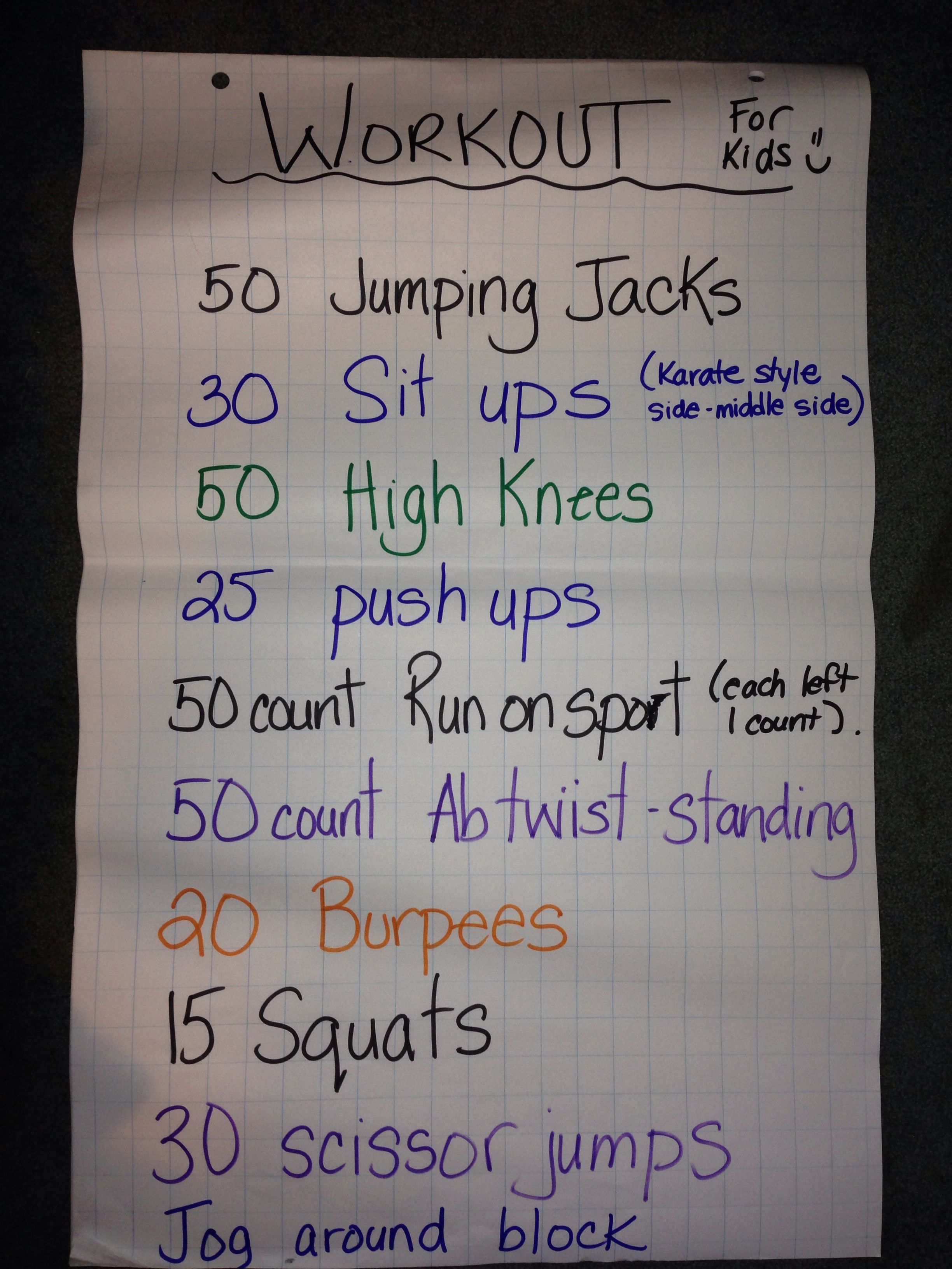 Fitness For Kids Exercis Fitness Fitnessmotivation