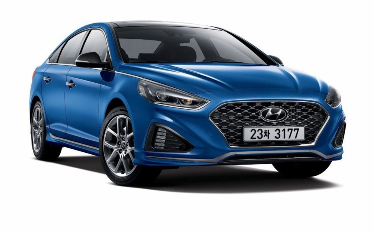 2018 Hyundai Sonata Debuts At 2017 New York Auto Show Hybrid Redesign And Release Date