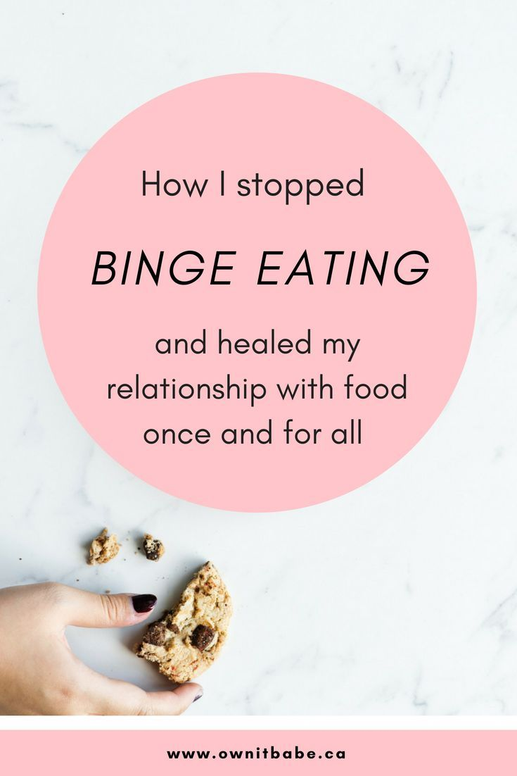 How to safely get out of binge