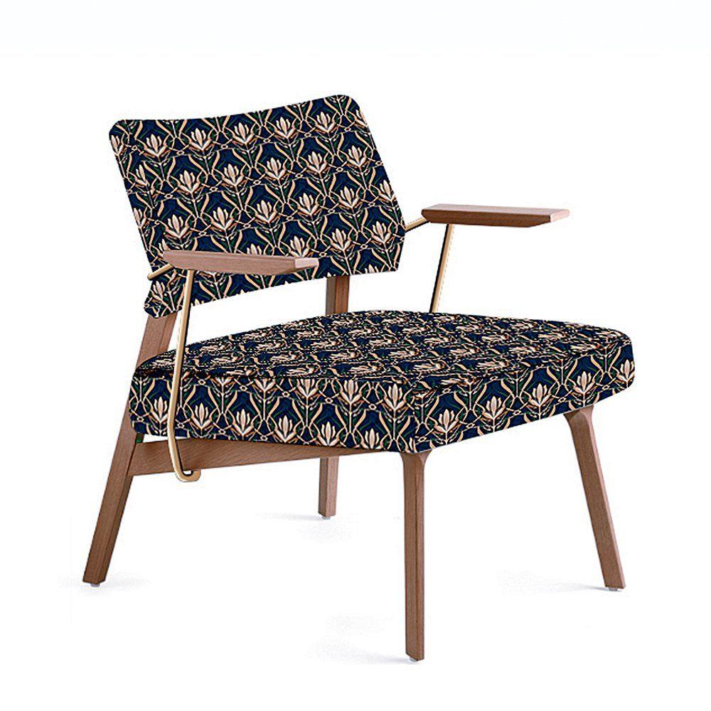 Fauteuil Rétro Mosaert Assises Seats Pinterest - Fauteuil bas scandinave