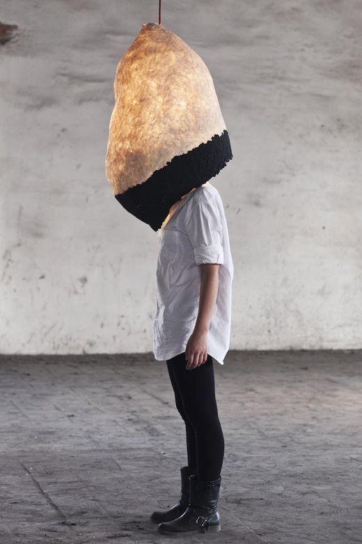 Musings Paper Mache Lamp Design Design Milk Lamp
