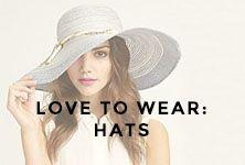 love to wear: hats