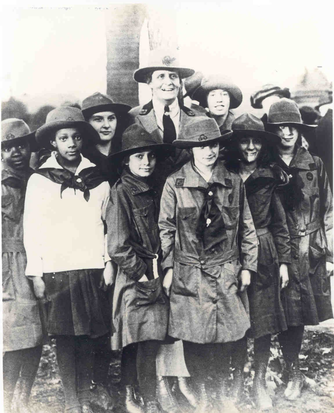 girl scouts uniforms history | girl scouts in the latest edition ...