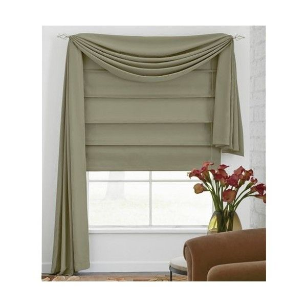 Roman Shades With Curtains H280a Shade Curtain Rod Blind Detailed Info For