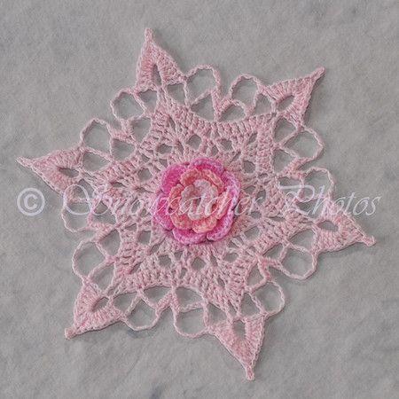 Mothers Day Crochet Snowflake Pattern Needle Arts Pinterest