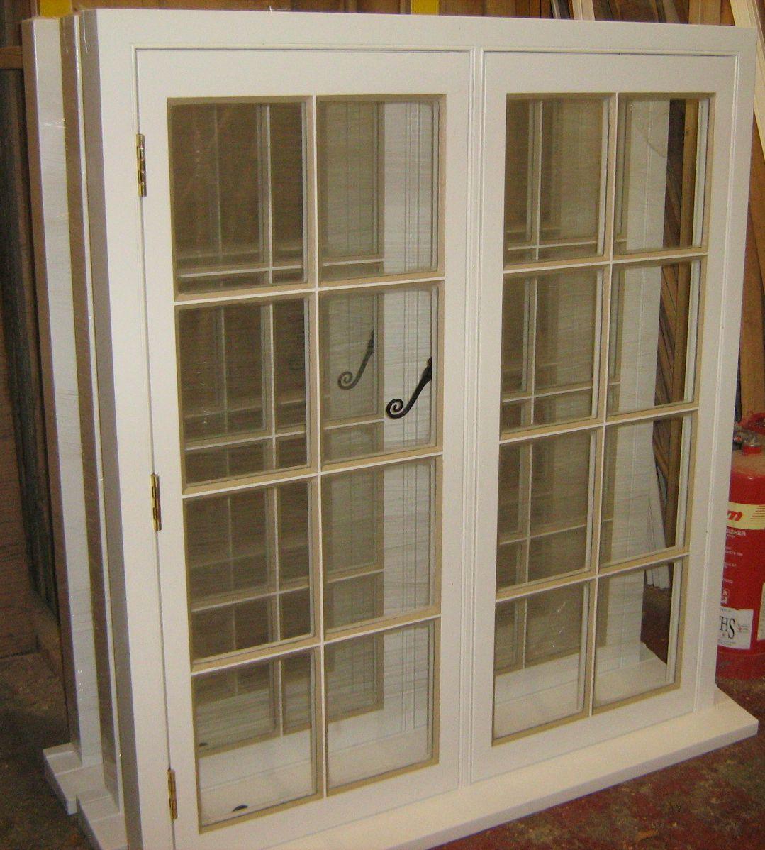 Traditional Putty Pointing On Replica Single Glazed Window