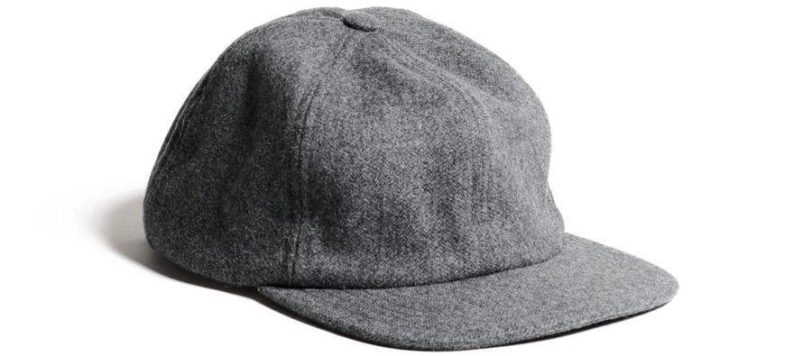d4b72987e83 Kaufmann mercantile Naadam X Knickerbocker Wool Cap in Gray for Men ...