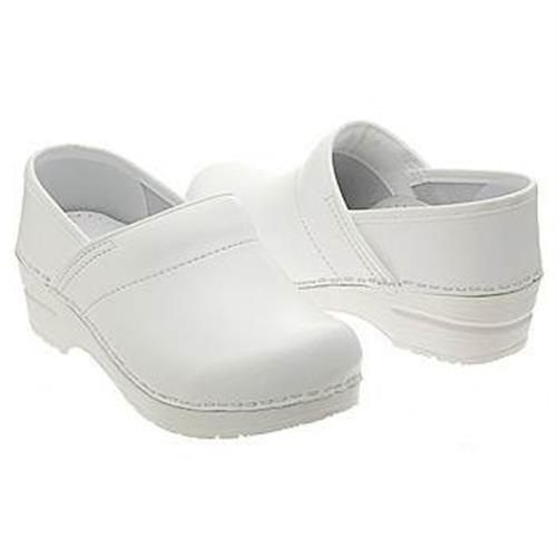 Dansko Professional White Box Clog Women's Nursing Medical Shoes Slip Resistant #Dansko #Clogs