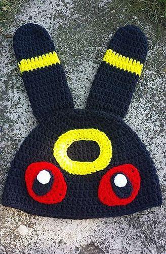 Umbreon Hat pattern by Tori Blakey | Craft Ideas | Pinterest ...