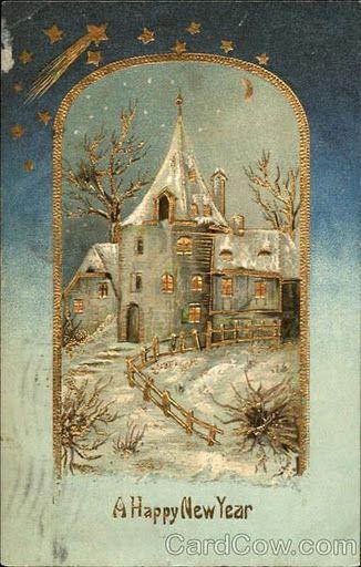 Nostalgische Weihnachtsbilder.Victorian Christmas I 06 Nostalgische Weihnachtsbilder