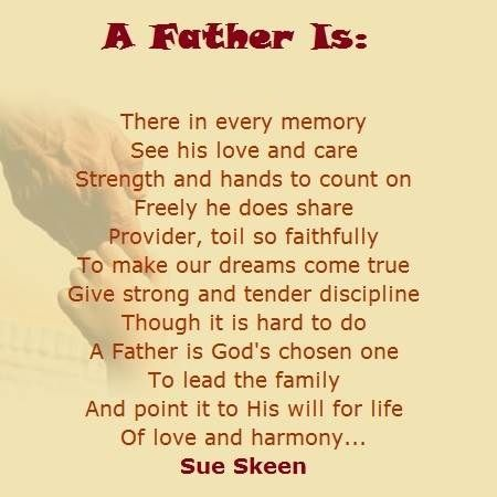 fathers day poem from daughter | Father's Day Poems and Prayers ...