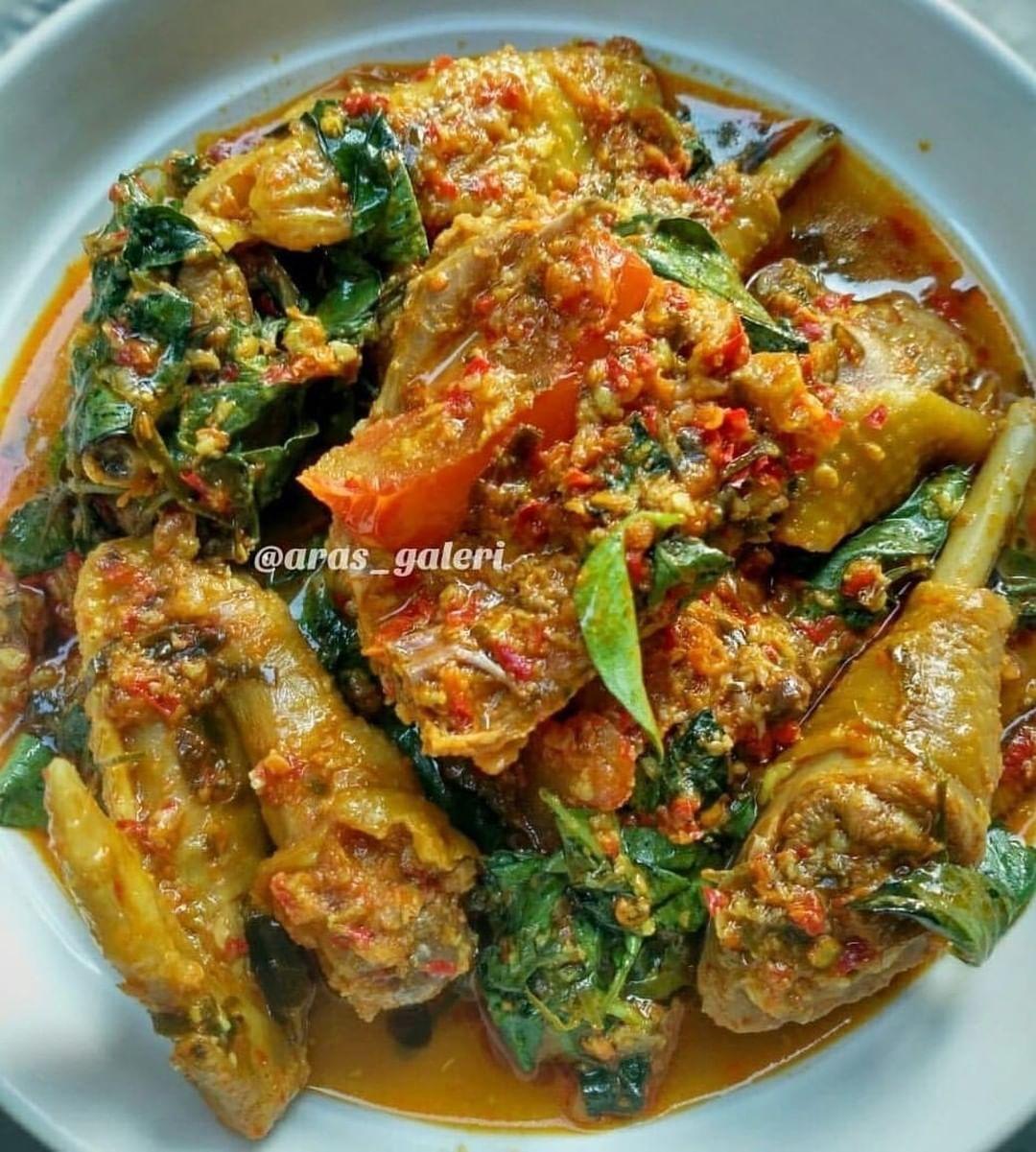 Ayam Rica Kemangi Resep Masakan Resep Ayam Masakan
