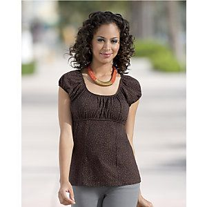 Simple Peasant Top from Monroe and Main