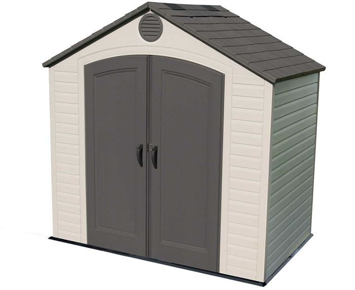 Hamlet 10 8 Arrow Backyard Storage Shed Kit Hm108 In 2020 Diy Storage Shed Plans Backyard Storage Sheds Building A Shed