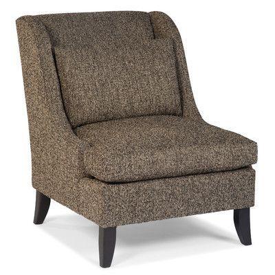 Fairfield Chair Transitional Pillow Wingback Chair Color: Mushroom