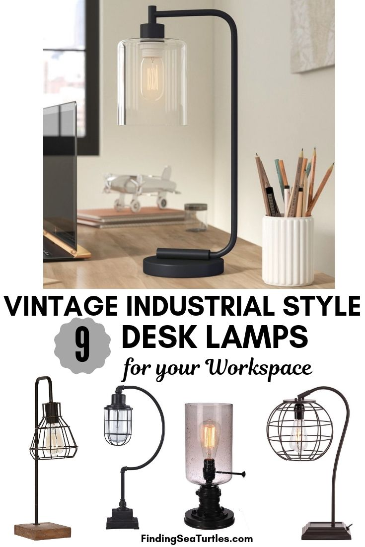 9 Industrial Desk Lamps For Your Workspace Industrial Home Offices Commercial Office Design Office Interior Design