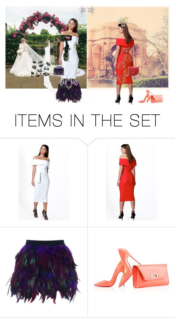 """""""Same dress, two histories..."""" by paloma-m ❤ liked on Polyvore featuring art, vintage, garden, wedding and obidress"""