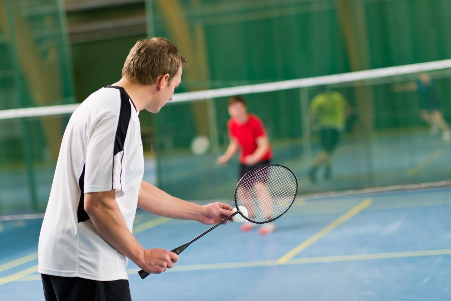 Learn how to play Badminton with our Badminton game