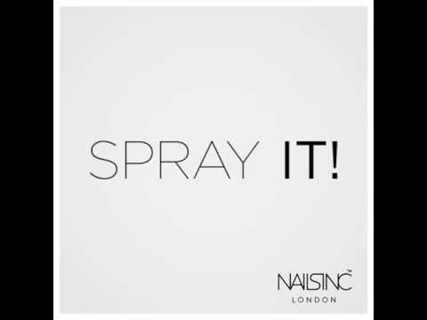 Say hello to spray on nail polish - the world's fastest manicure!