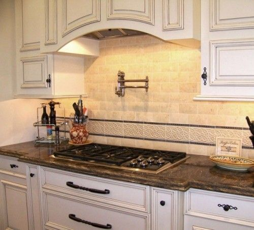 Beautiful Tile Work Traditional Kitchen By Design Moe Kitchen