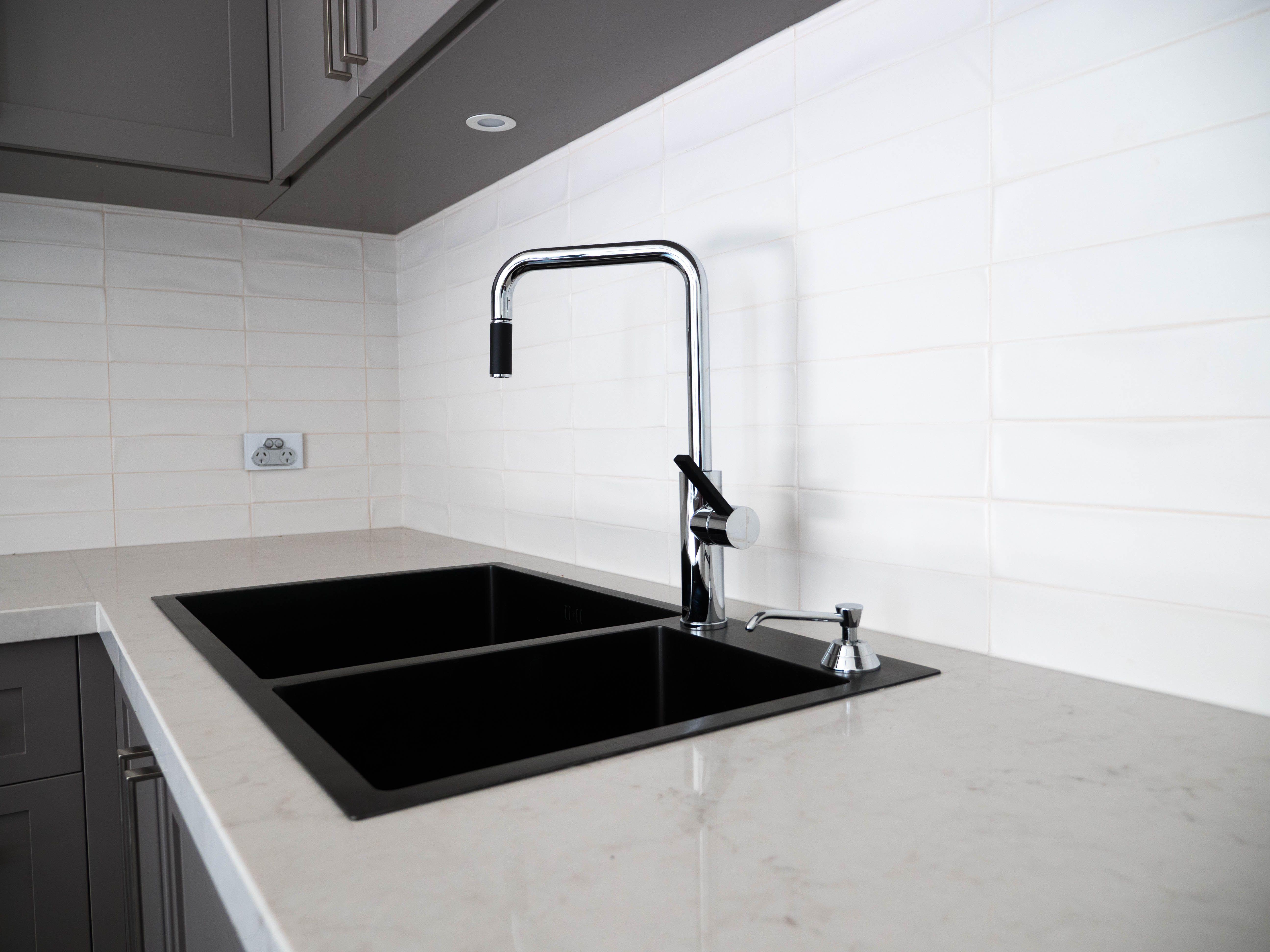 graphite black stainless steel sink graphite black stainless steel rh pinterest com