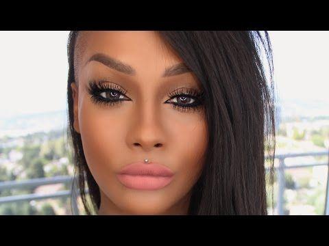 3b122d10178 SUMMER TOP AND BOTTOM FALSE LASH TREND BIG LIPS, SILKY STRAIGHT HAIR  TUTORIAL | SONJDRADELUXE - YouTube