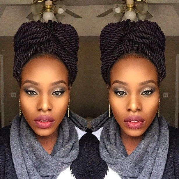 Senegalese Twists - 16 Ways to Turn Heads Quickly | Updo ...