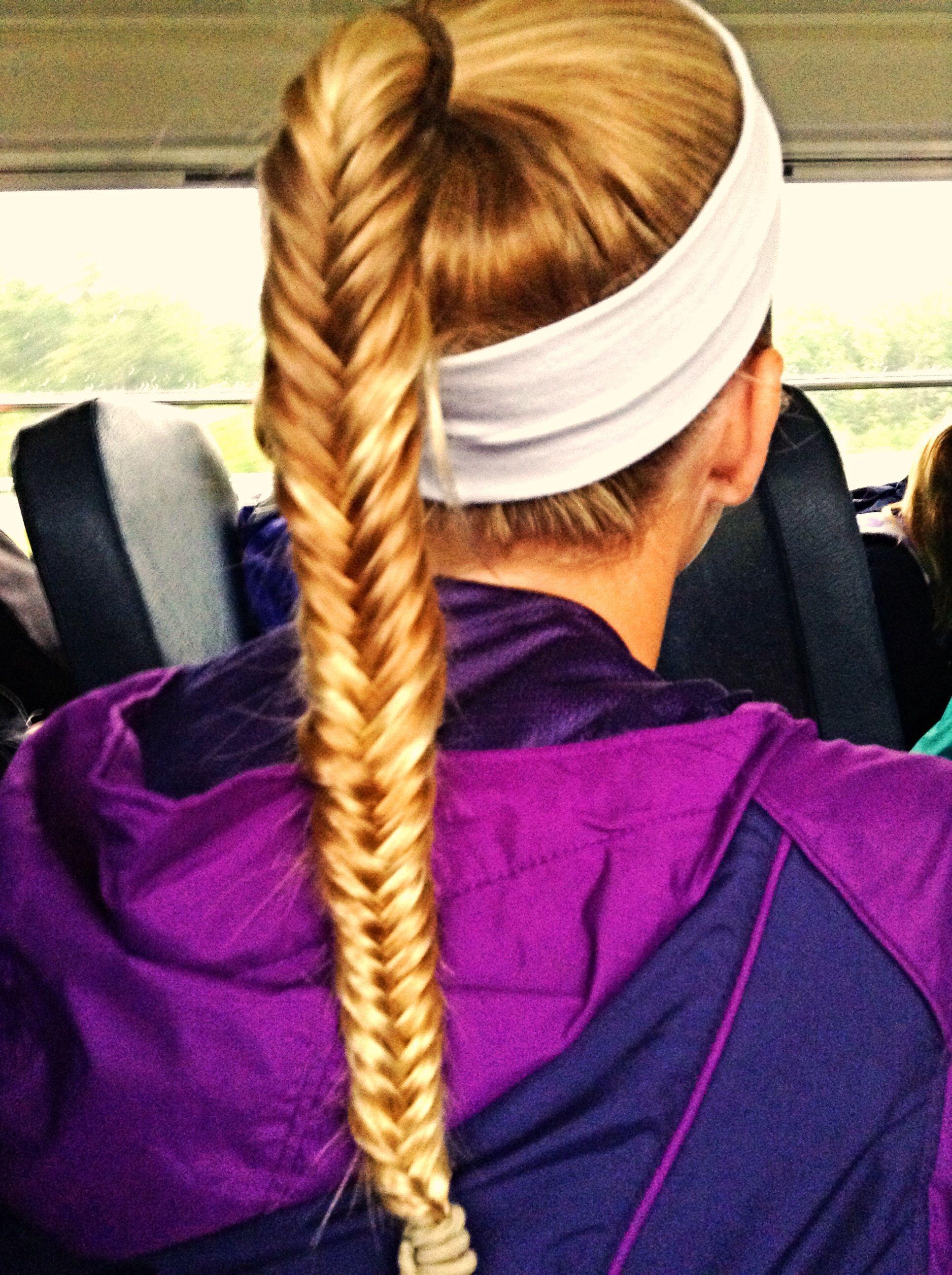 Fockey hair fishtail braid hair styles pinterest