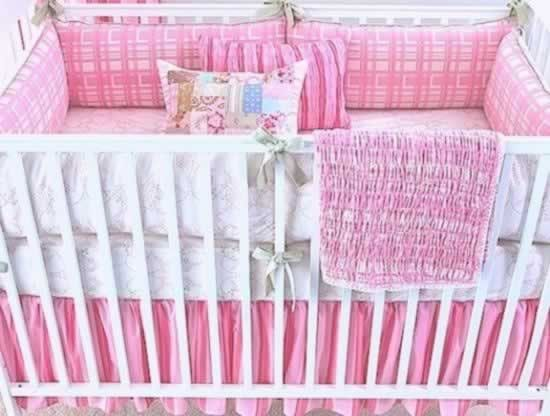 Berry Manon 2 piece Girl Crib Set