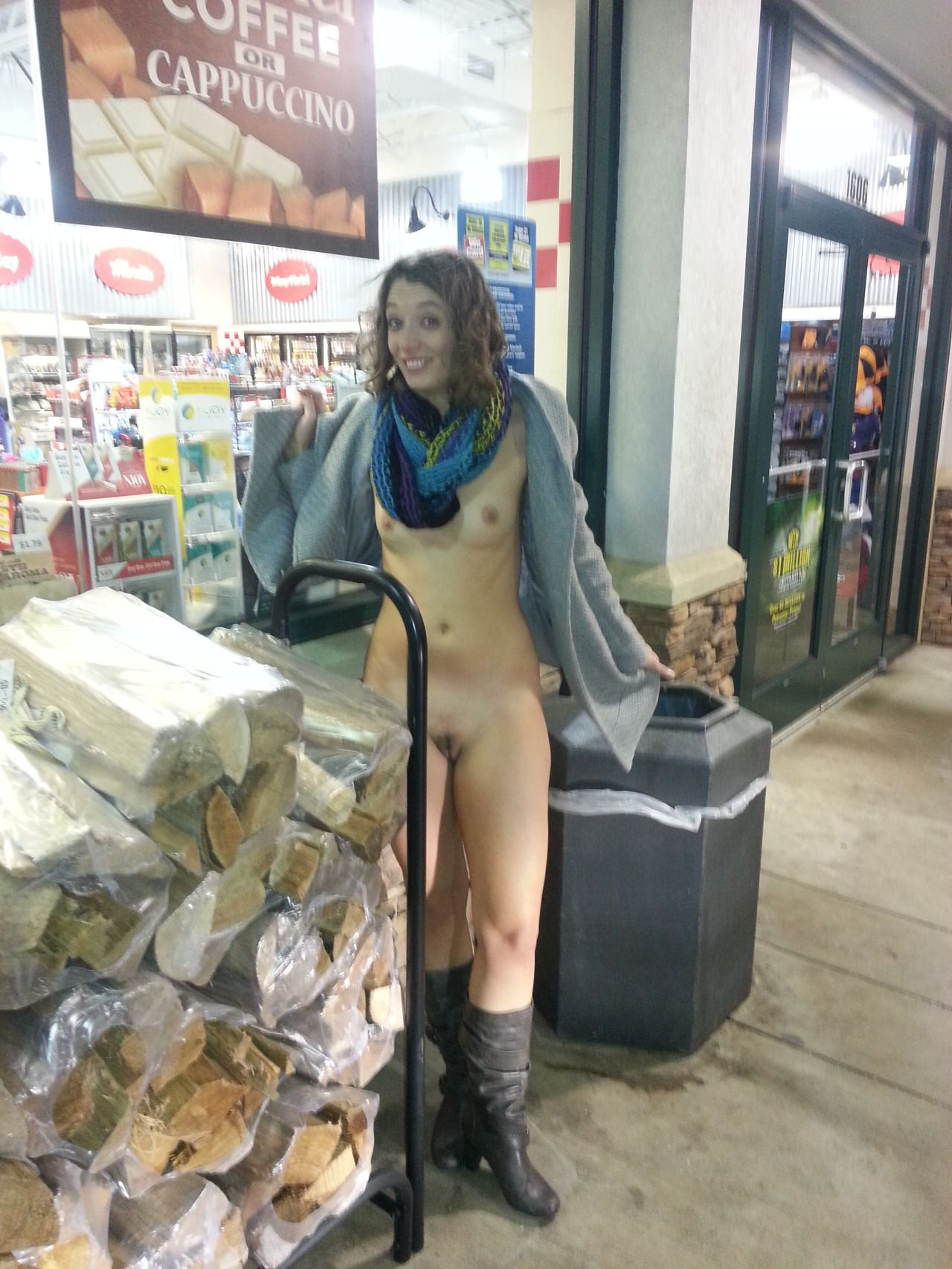 from Kaleb naked black girls at gas station