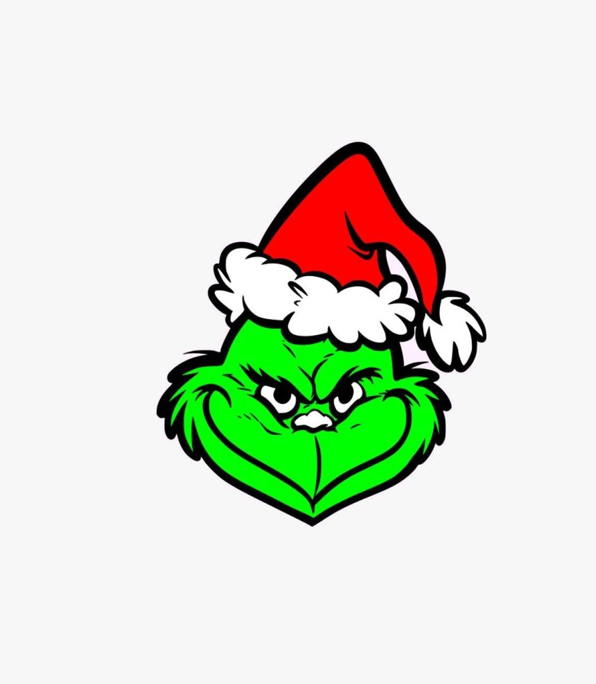 The Grinch Clipart Grinch Face Svg Grinch Clip Art