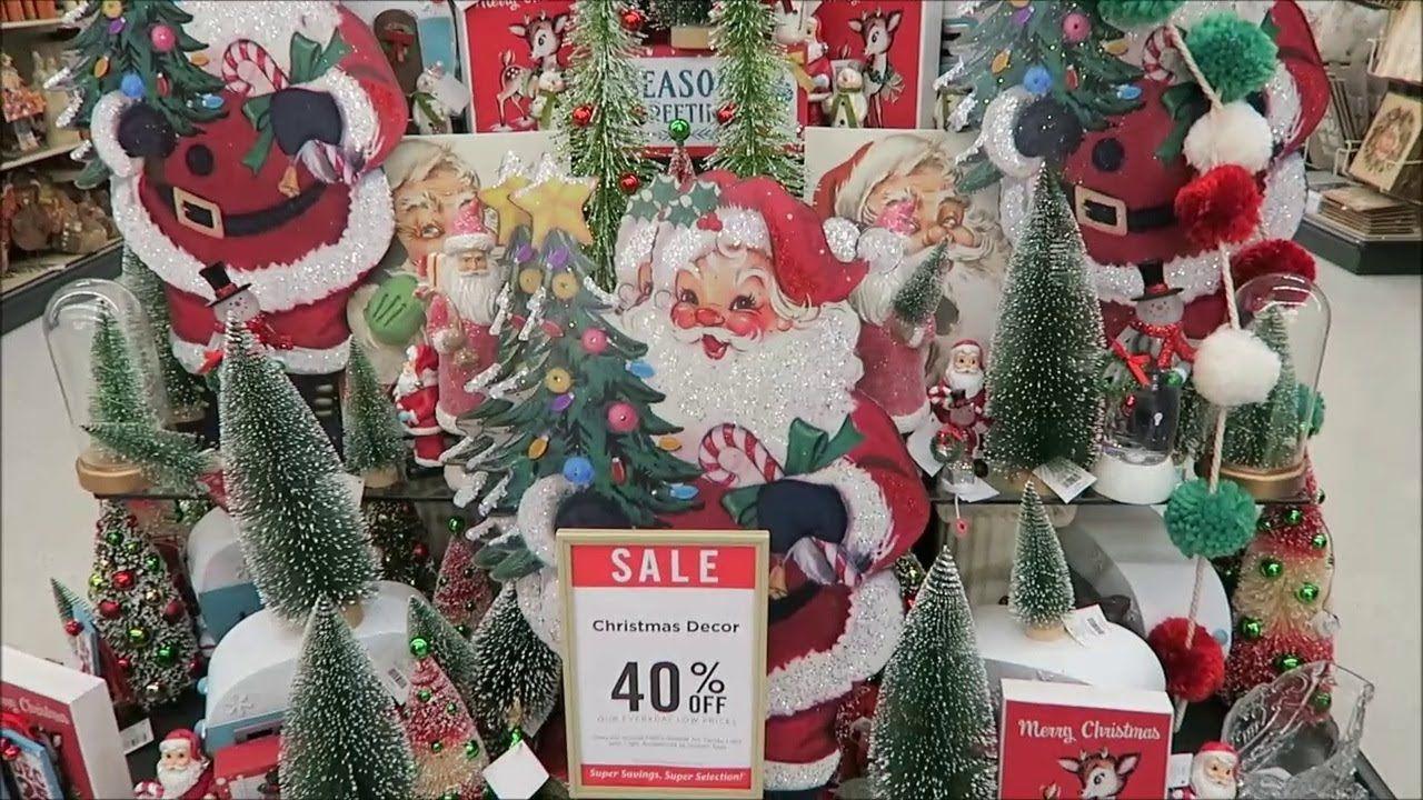 Hobby Lobby Christmas Decorations 2017 - YouTube | CHRISTMASSY ...