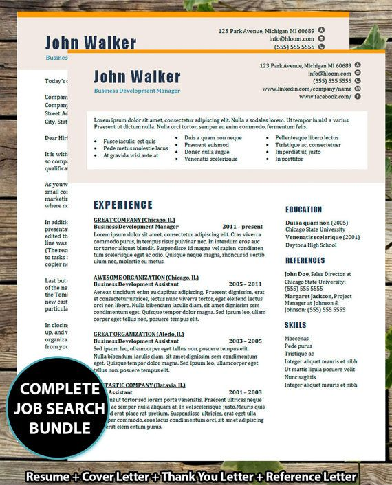2015 style resume template current design custom resume download instant download
