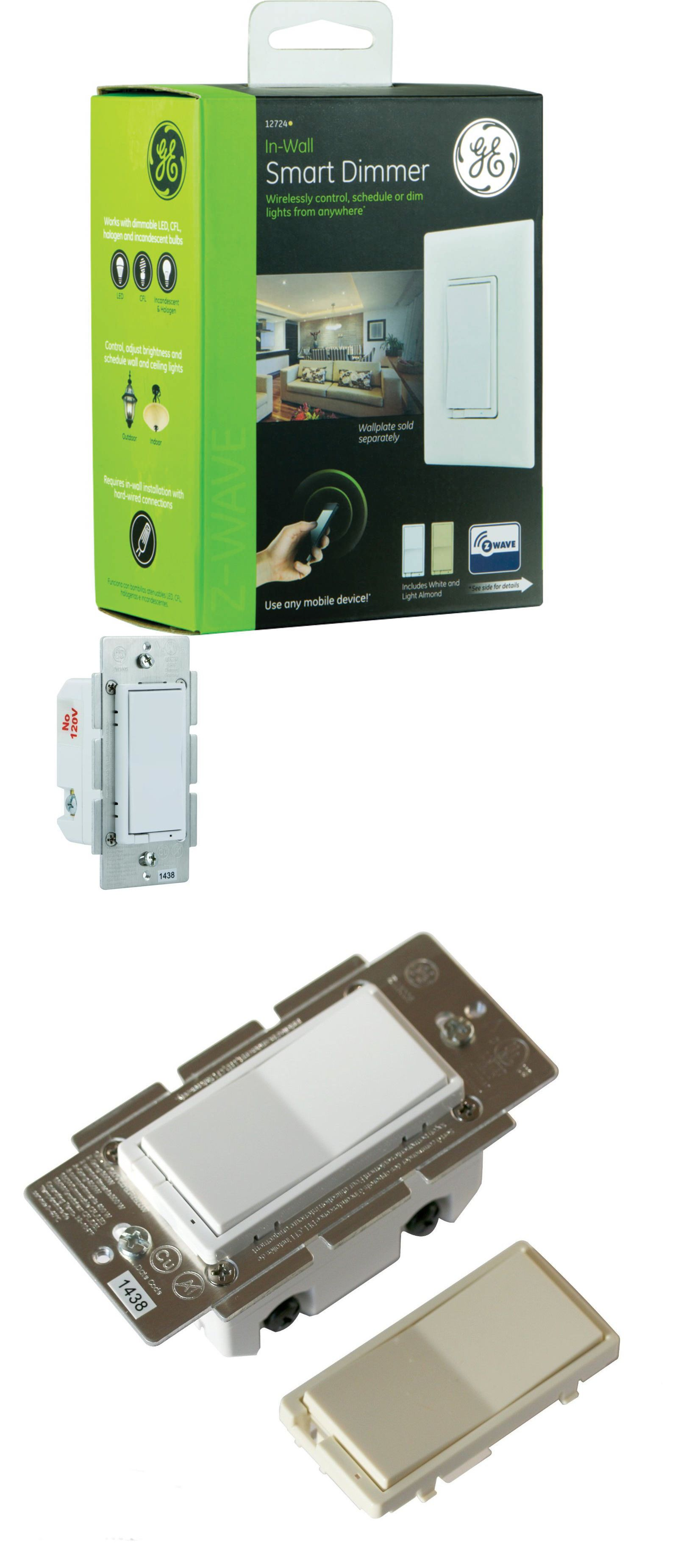 Home Automation Modules: Ge 12724 Z-Wave 600 Watt Cfl-Led Indoor In ...