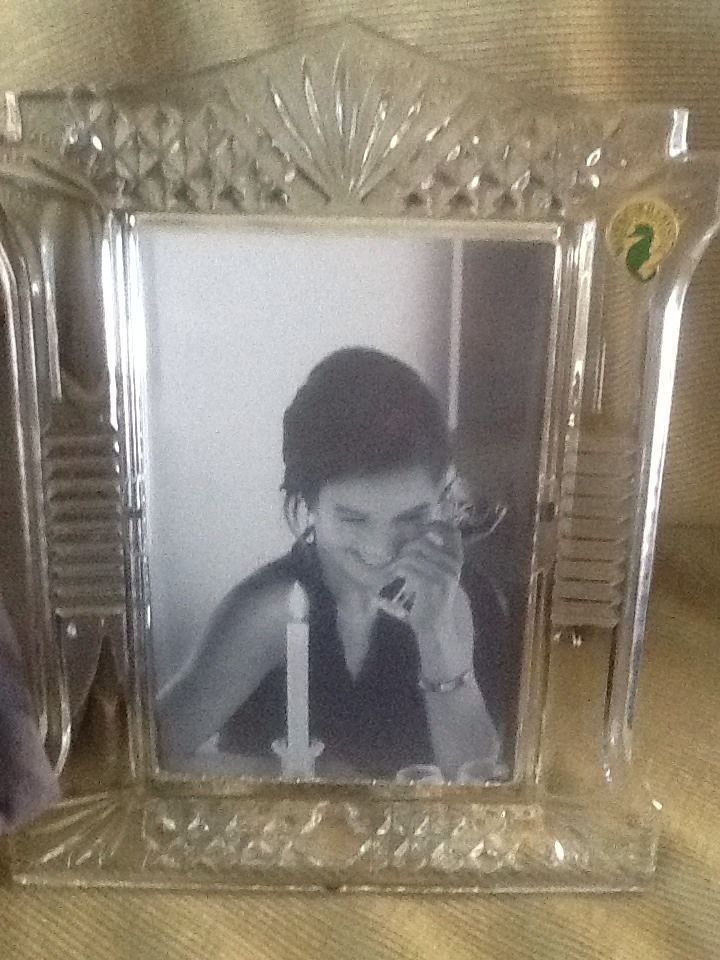 Waterford Crystal New In Box And Dust Cover 4x6 Uniquely Cut Picture ...