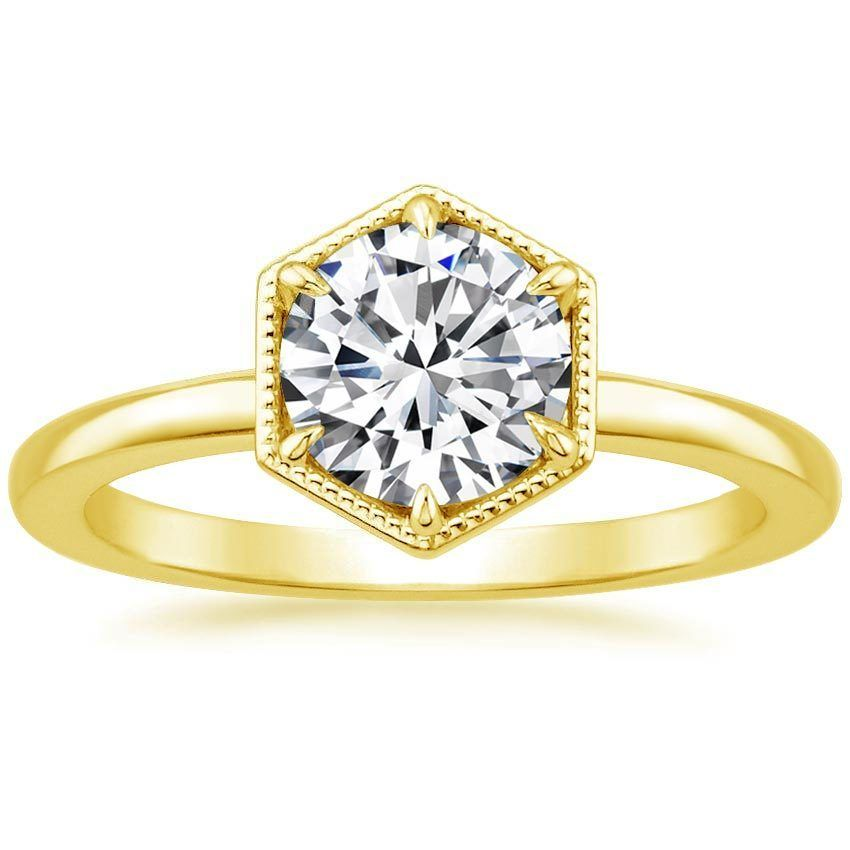 18K Yellow Gold Caldera Ring from Brilliant Earth